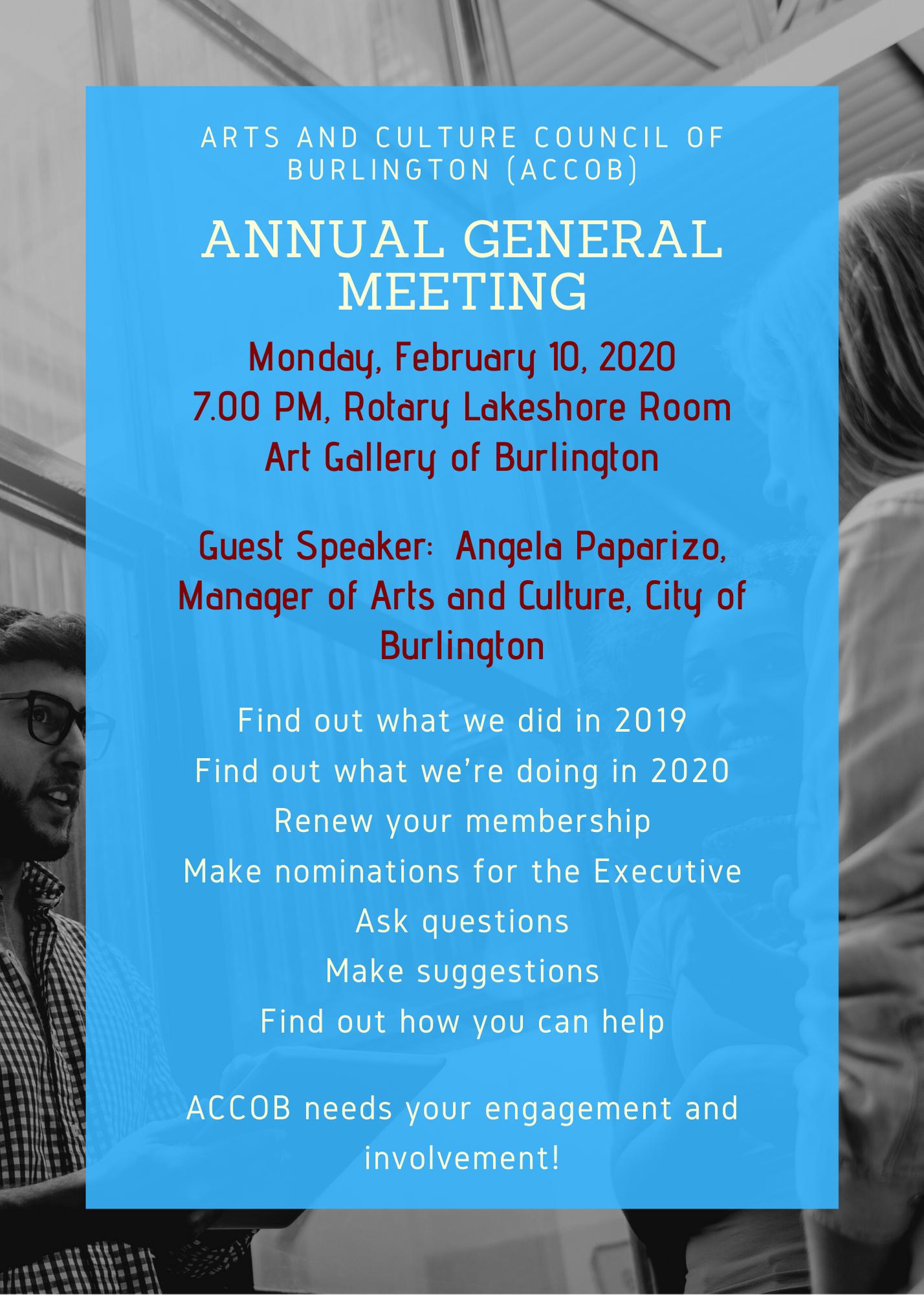 2020 ACCOB Annual meeting