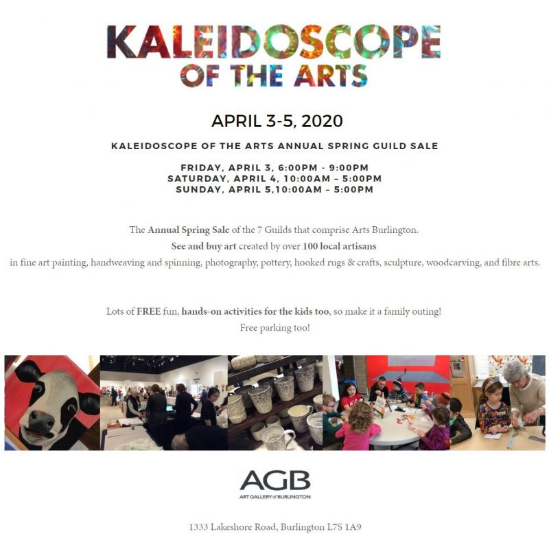 Kaleidoscope of the Arts Annual Spring Guild Sale