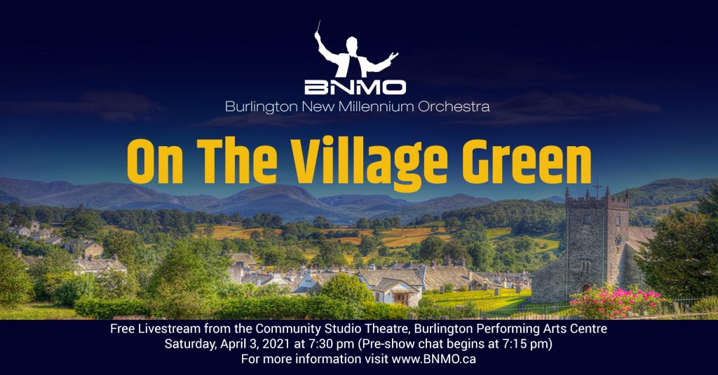 On The Village Green Livestream Concert with the BNMO